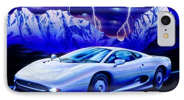 Jaguar 220 Phone Case by Garry Walton