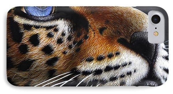 Jaguar Cub Phone Case by Jurek Zamoyski