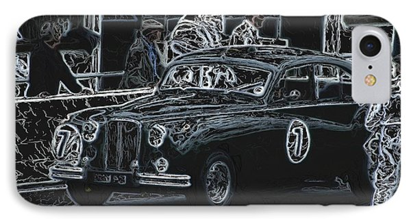 Jaguar Markvii 1952 IPhone Case by John Colley