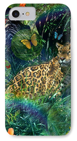 Jaguar Meadow IPhone Case by Alixandra Mullins