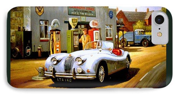 Jaguar Xk 140 IPhone Case by Mike  Jeffries