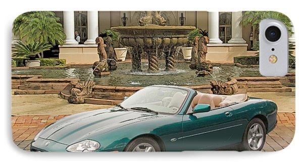 Jaguar Xk8 IPhone Case