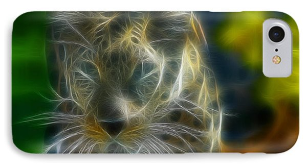 Jaguar208-fractal Phone Case by Gary Gingrich Galleries