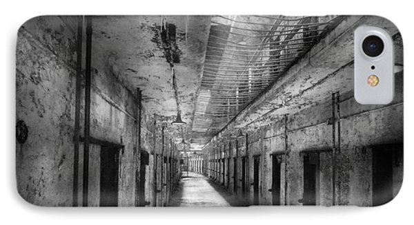 Jail - Eastern State Penitentiary - The Forgotten Ones  IPhone Case by Mike Savad