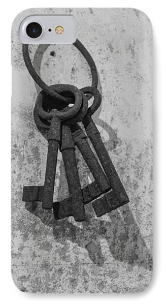 IPhone Case featuring the photograph Jail House Keys by Patricia Schaefer