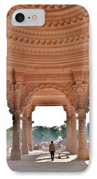 Jain Temple Entrance - Amarkantak India Phone Case by Kim Bemis