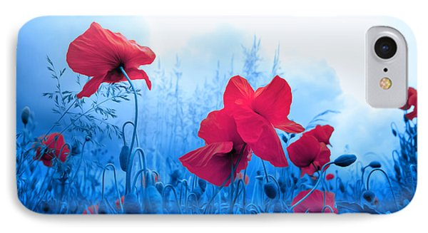 Jam With Poppies IPhone Case by Philippe Sainte-Laudy