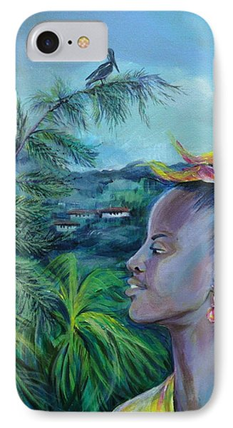 Jamaica. Part Two Phone Case by Anna  Duyunova