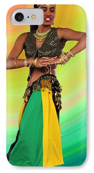 Jamaican Belly Dancer IPhone Case