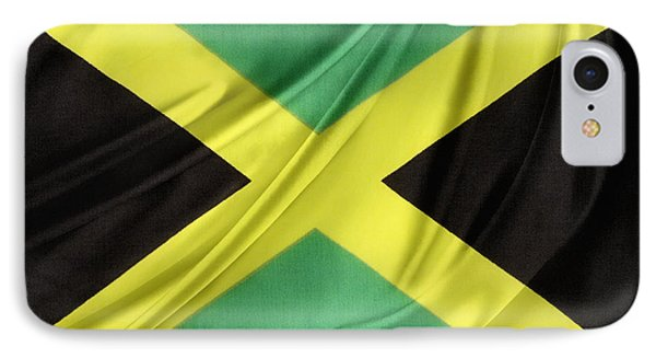 Jamaican Flag IPhone Case by Les Cunliffe