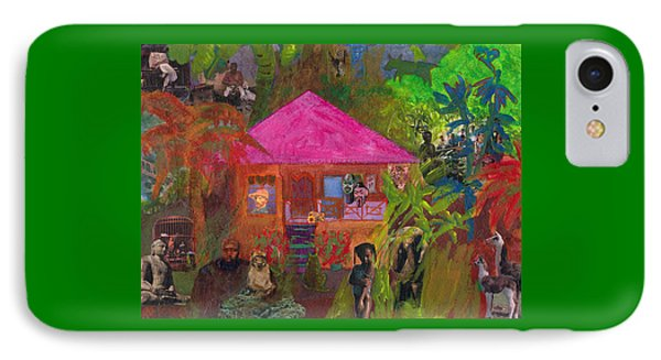 Jamaican Holiday IPhone Case by Catherine Redmayne