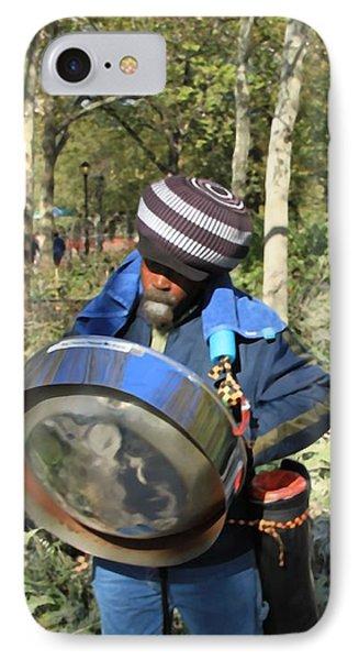 Jamaican Music Drum IPhone Case