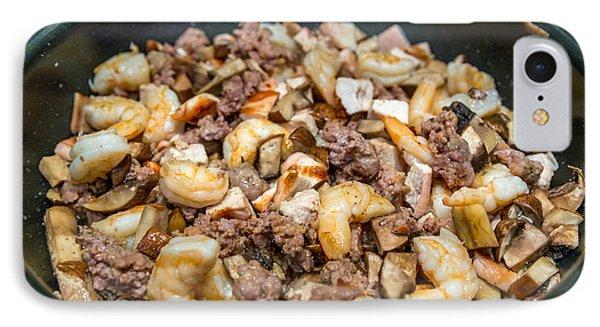 Jambalaya Proteins Cooking IPhone Case