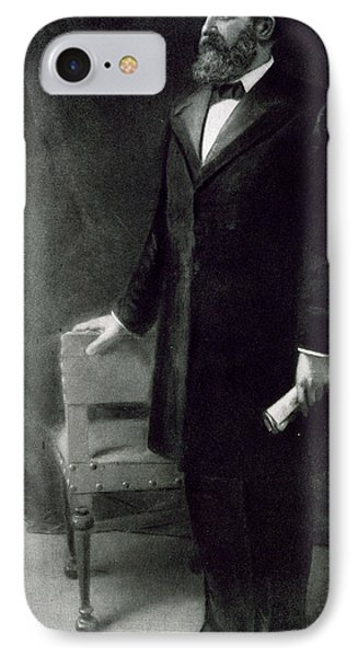 James A Garfield IPhone Case by Eliphalet Frazer Andrews