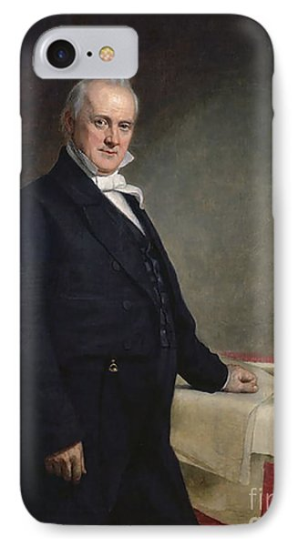 James Buchanan IPhone Case by GPA Healy