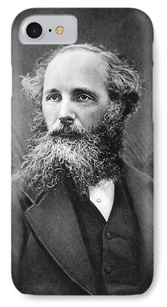 James Clerk Maxwell IPhone Case by Science Photo Library