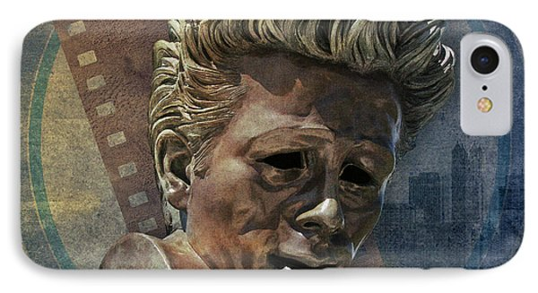 James Dean Phone Case by Bedros Awak