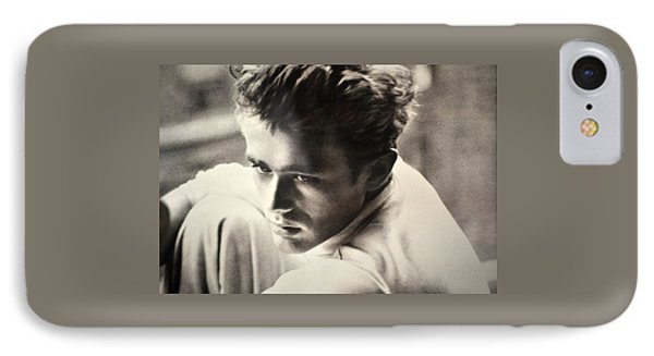 James Dean Black And White IPhone Case by Jay Milo