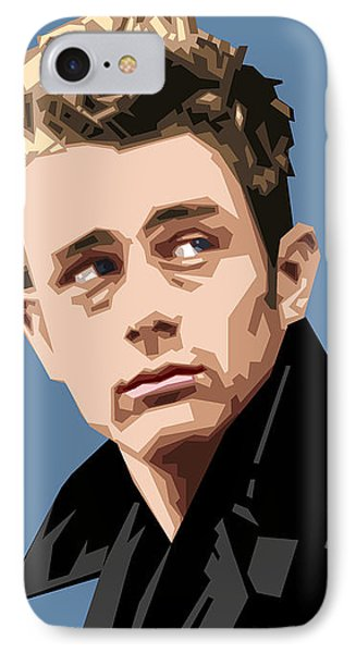 James Dean In Color IPhone Case by Douglas Simonson
