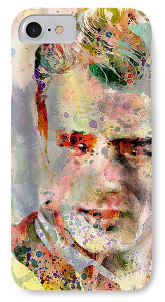 James Dean IPhone Case by Mark Ashkenazi