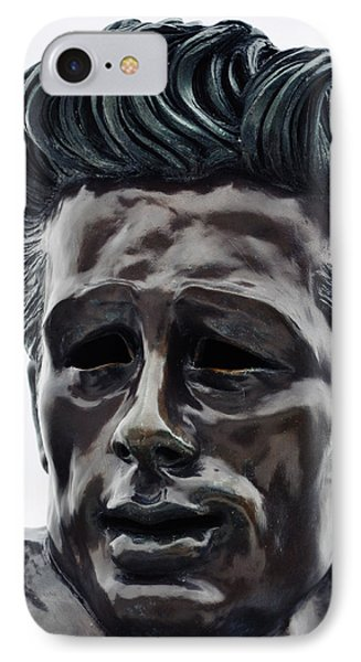 IPhone Case featuring the photograph James Dean The Rebel by Kyle Hanson