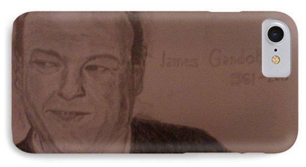 James Gandolfini IPhone Case by Christopher Kyriss