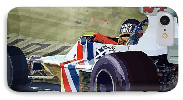 James Hunt 1975 Hesketh 308b IPhone Case