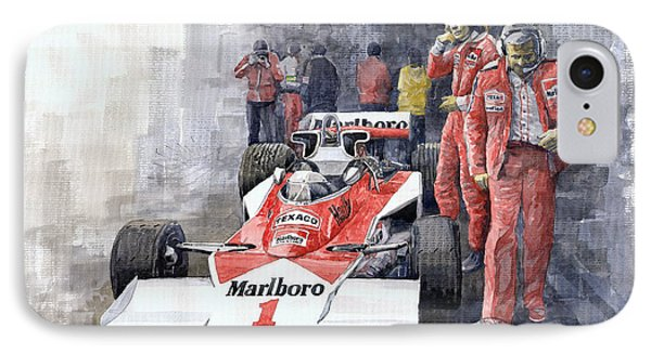 James Hunt Monaco Gp 1977 Mclaren M23 IPhone Case