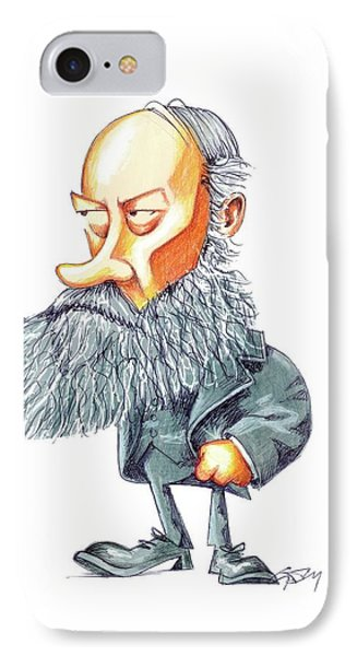 James Joule IPhone Case by Gary Brown