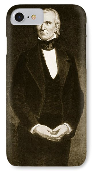 James K Polk  IPhone Case by George Healy