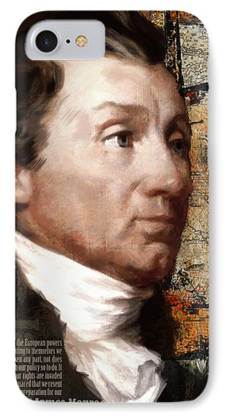 James Monroe Phone Case by Corporate Art Task Force