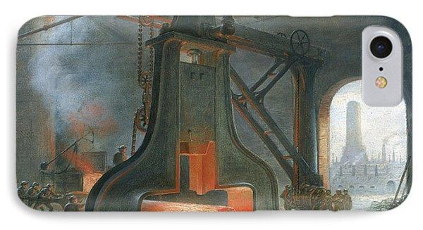 James Nasmyth's Steam Hammer IPhone Case