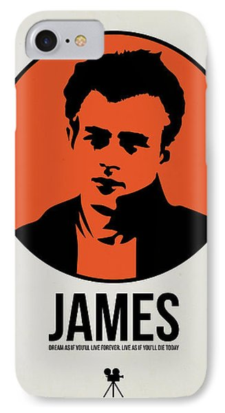 James Poster 1 IPhone Case by Naxart Studio