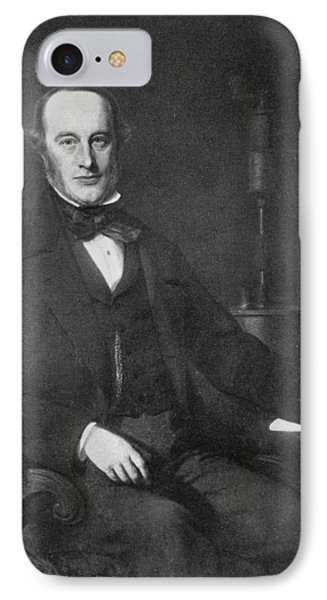 James Prescott Joule (1818-1889) IPhone Case by Granger
