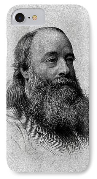 James Prescott Joule, English Physicist IPhone Case by Wellcome Images