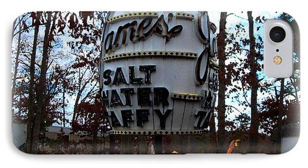 IPhone Case featuring the digital art James Salt Water New Jersey Taffy by K Scott Teeters