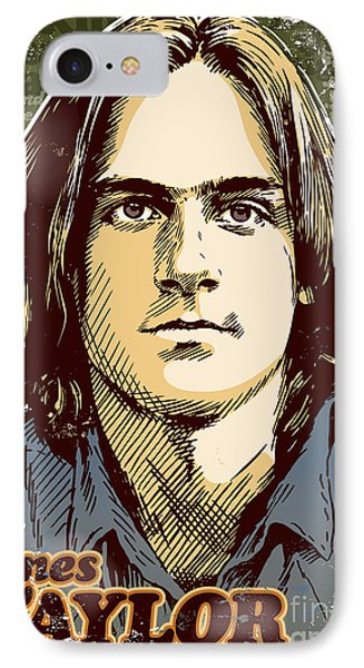 James Taylor Pop Art IPhone Case