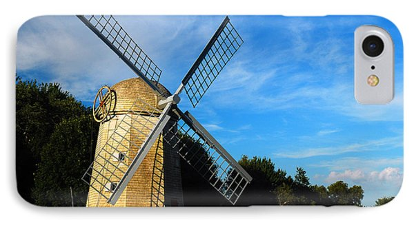 Jamestown Windmill IPhone Case by James Kirkikis