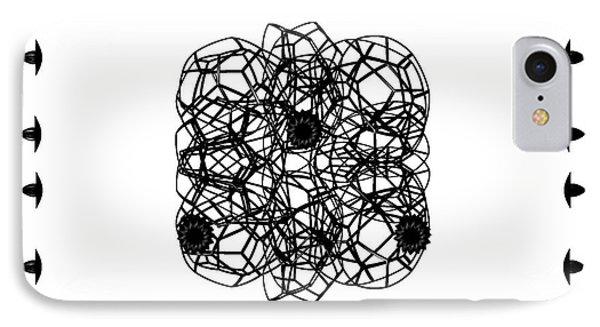 Jammer Asymmetrical Symmetry IPhone Case by First Star Art