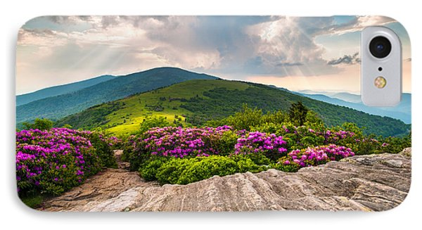North Carolina Blue Ridge Mountains Landscape Jane Bald Appalachian Trail IPhone Case