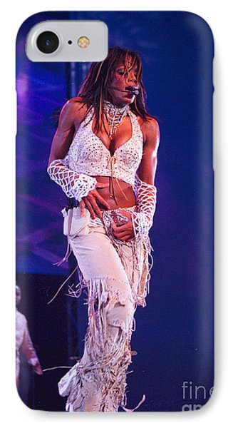 Janet Jackson-01 Phone Case by Timothy Bischoff