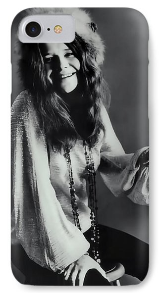 Janis Joplin IPhone Case by Daniel Hagerman