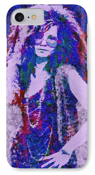 Janis Joplin Mosaic IPhone Case
