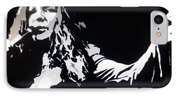 Janis Joplin Pop Art Phone Case by Ryszard Sleczka