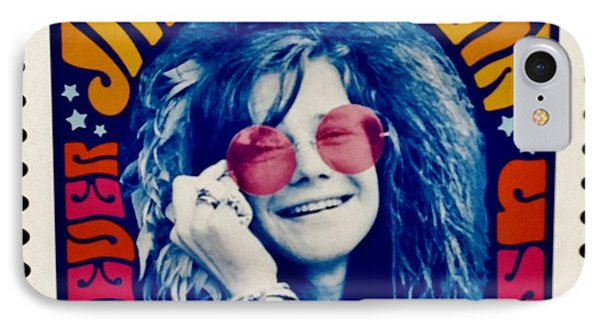 Janis Stamp In A Groovy Vibe IPhone Case by Rob Hans