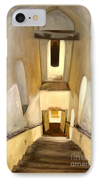 Jantar Mantar Staircase IPhone Case by Mukta Gupta