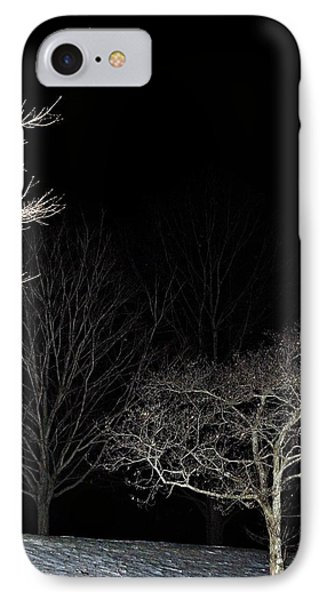 IPhone Case featuring the photograph January Crescent Moon by Steven Richman