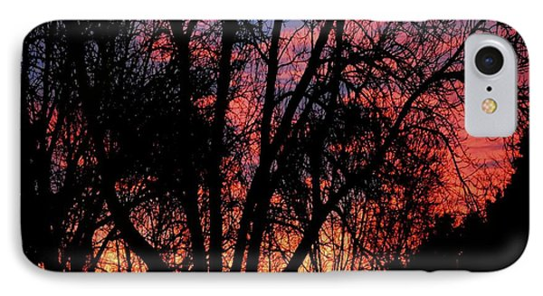 IPhone Case featuring the photograph January Dawn by Luther Fine Art