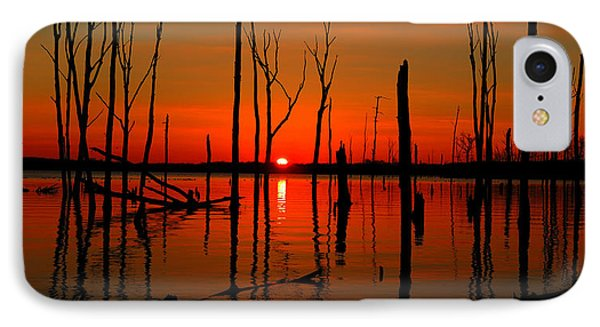 January Sunrise IPhone Case