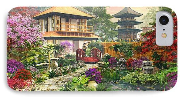 Japan Garden IPhone Case by Dominic Davison